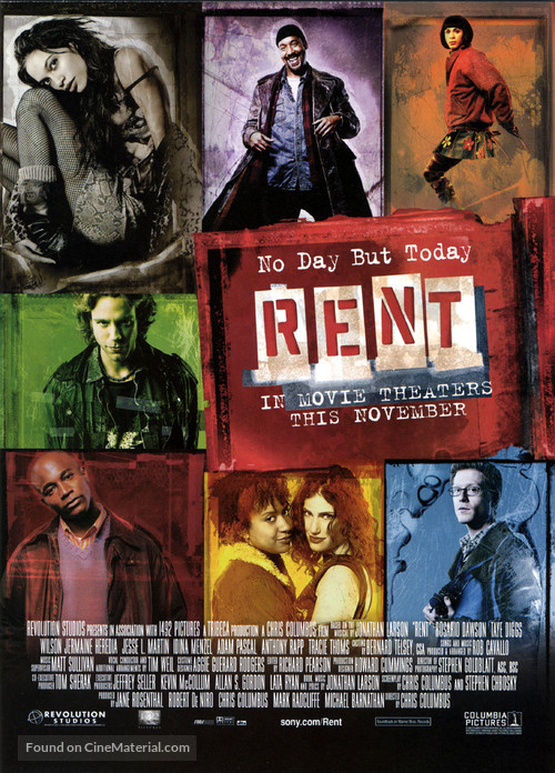 Rent - Theatrical movie poster