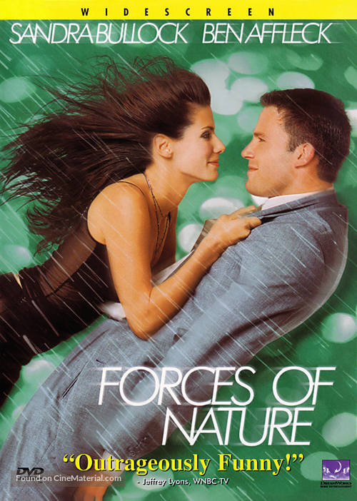 Forces Of Nature - DVD movie cover