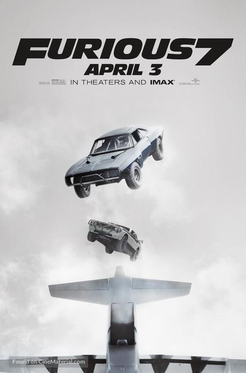 Furious 7 - Movie Poster
