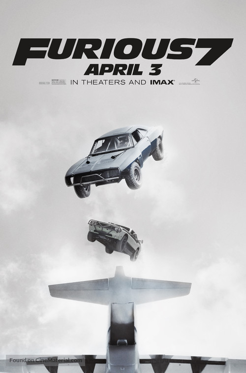 Furious 7 - Movie Poster