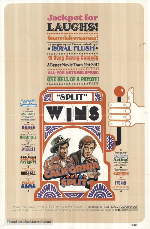California Split - Movie Poster
