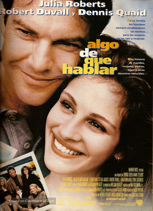 Something To Talk About - Spanish Movie Poster
