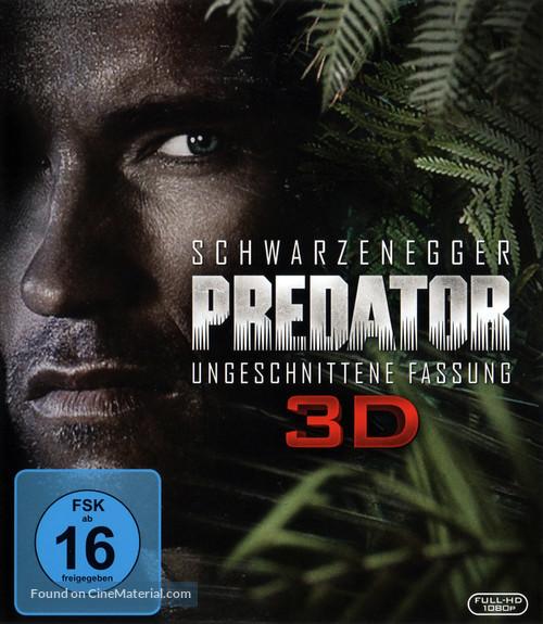 Predator - German Blu-Ray movie cover