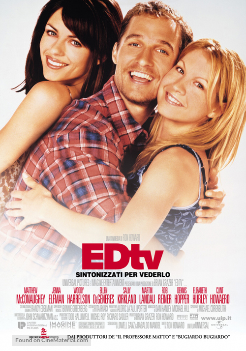 Ed TV - Italian Movie Poster