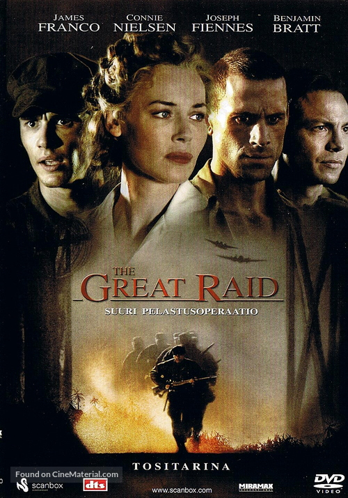 The Great Raid - Finnish Movie Cover