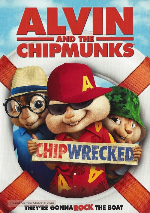 Alvin And The Chipmunks Chipwrecked 2011 Dvd Movie Cover
