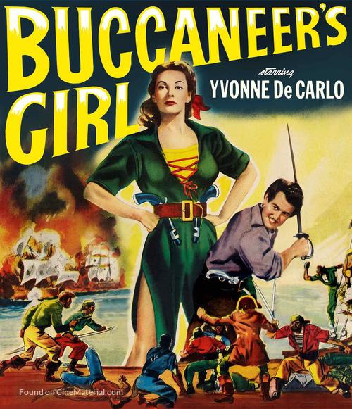 Buccaneer's Girl - Blu-Ray movie cover