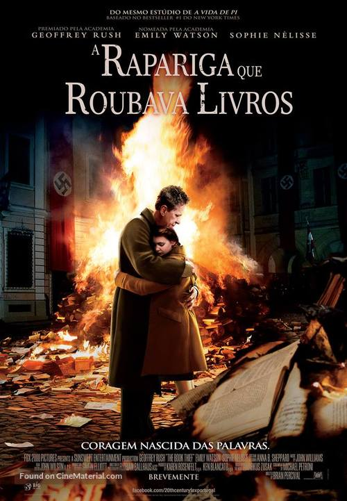 The Book Thief - Portuguese Movie Poster