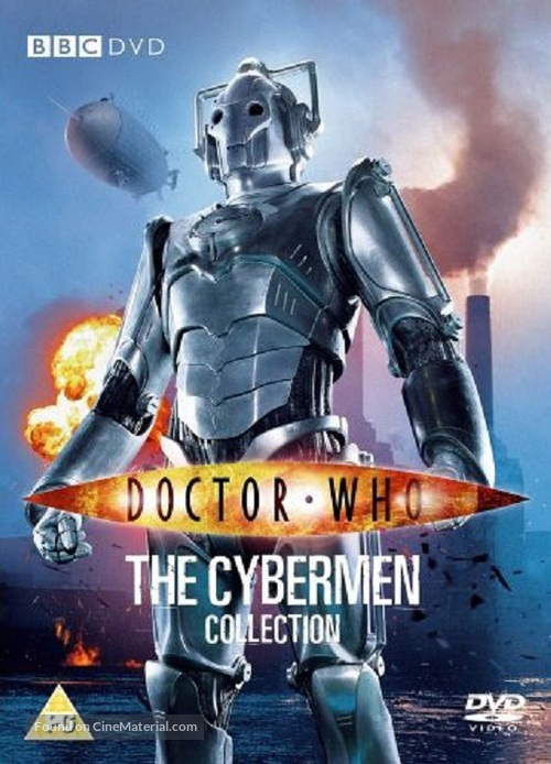 """""""Doctor Who"""" - British DVD movie cover"""