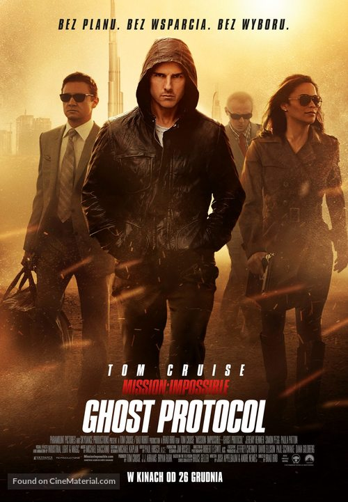 Mission: Impossible - Ghost Protocol - Polish Movie Poster