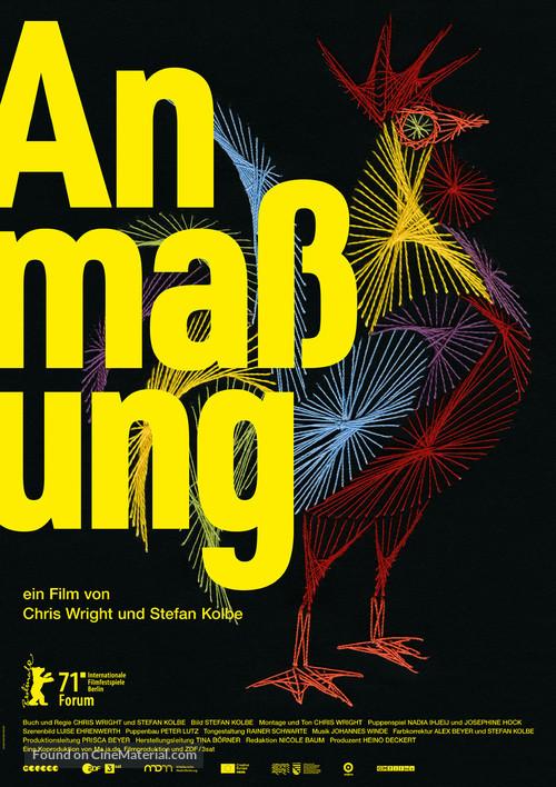 Anamnesis - German Movie Poster