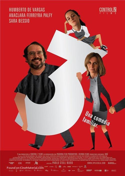 3 - Uruguayan Movie Poster
