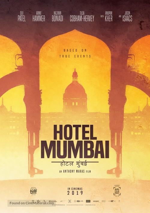 Hotel Mumbai - Australian Movie Poster