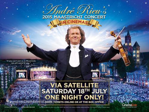 André Rieu's 2015 Maastricht Concert - Dutch Movie Poster