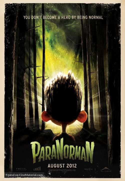 ParaNorman - Canadian Movie Poster