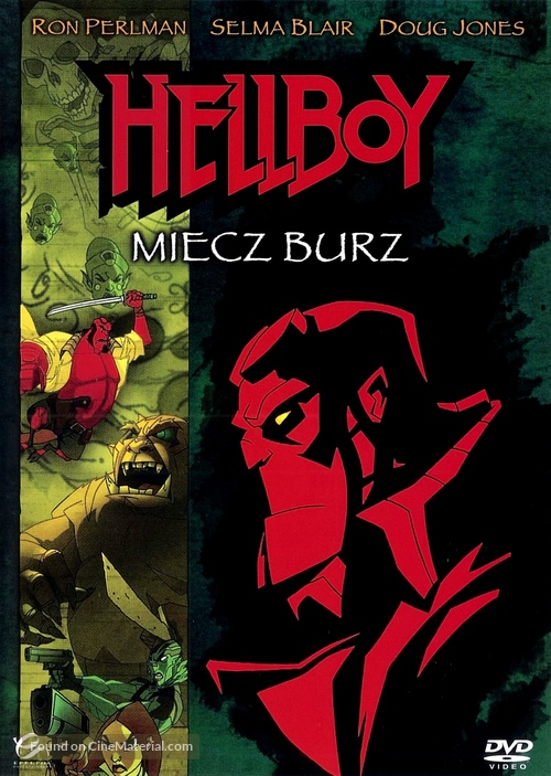 Hellboy: Sword of Storms - Polish Movie Cover