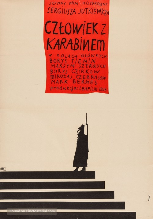 The Man with the Gun - Polish Movie Poster