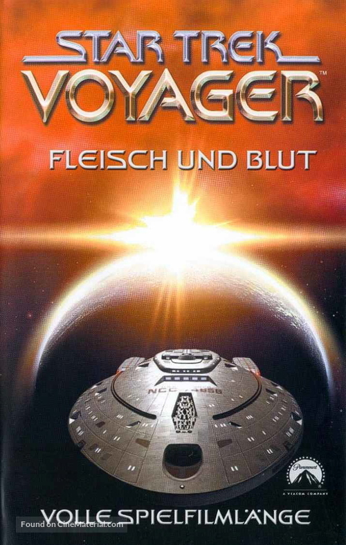 """Star Trek: Voyager"" - German VHS movie cover"