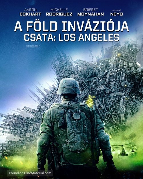 Battle: Los Angeles - Hungarian Blu-Ray movie cover