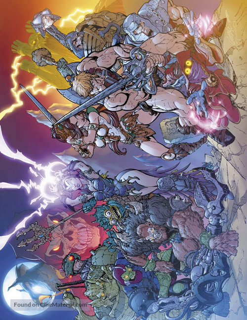 """He-Man and the Masters of the Universe"" - poster"