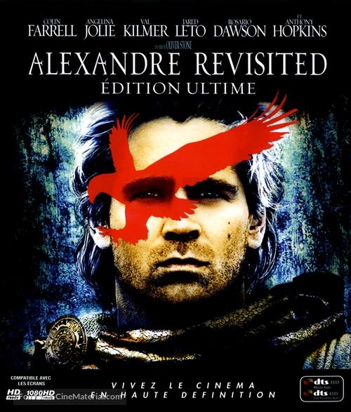 Alexander - French Blu-Ray movie cover