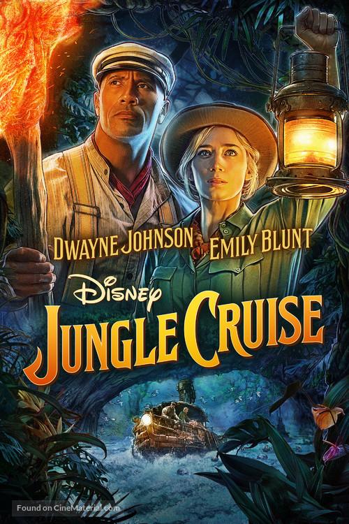 Jungle Cruise - Movie Cover