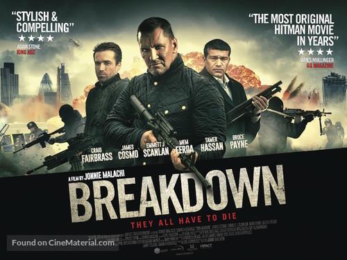 Breakdown 2016 British Movie Poster