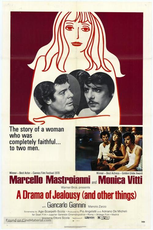 Dramma della gelosia - tutti i particolari in cronaca - Movie Poster