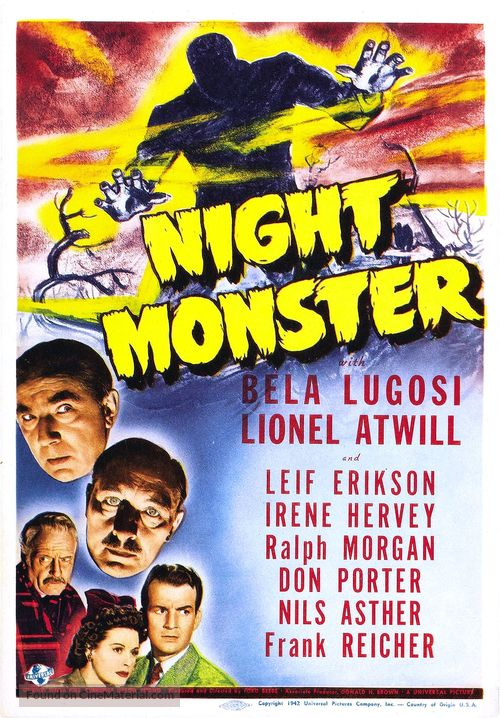 Night Monster - Movie Poster