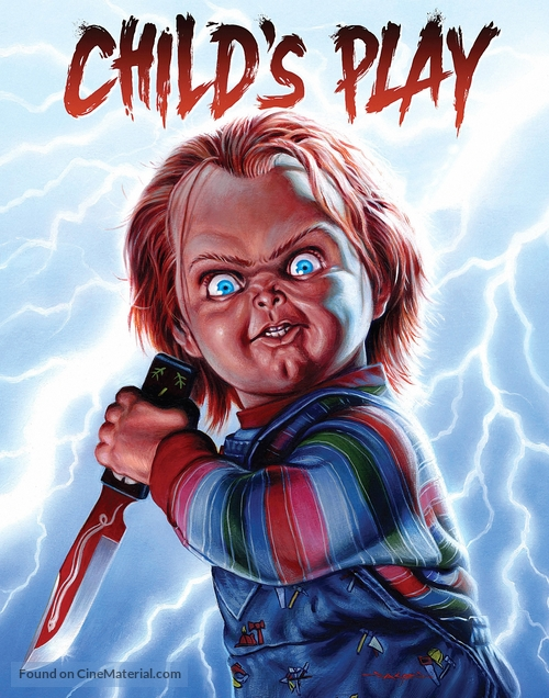 Child's Play - Blu-Ray movie cover