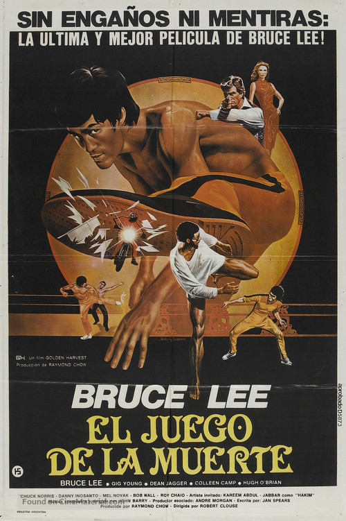 Game Of Death - Spanish Movie Poster
