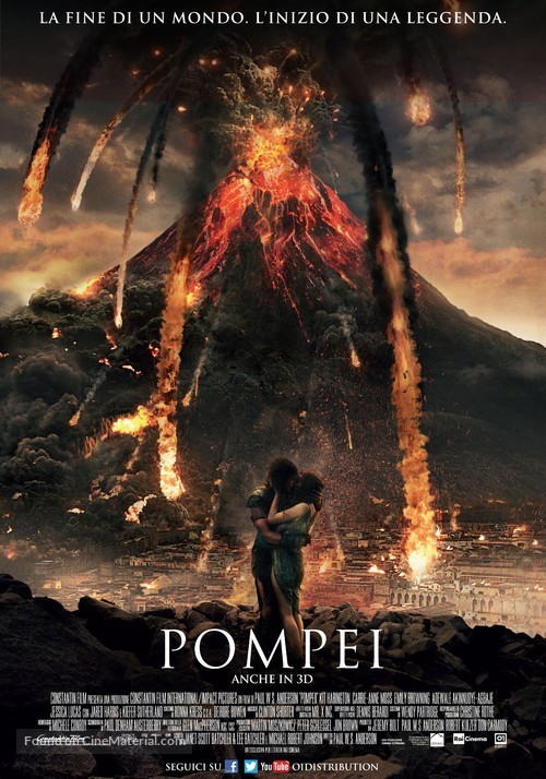 Pompeii - Italian Movie Poster