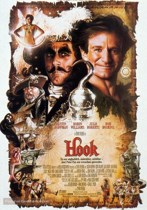 Hook - German Movie Poster