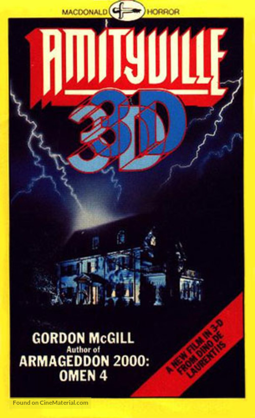 Amityville 3-D - Movie Cover