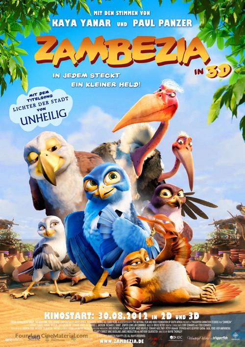 Zambezia - German Movie Poster