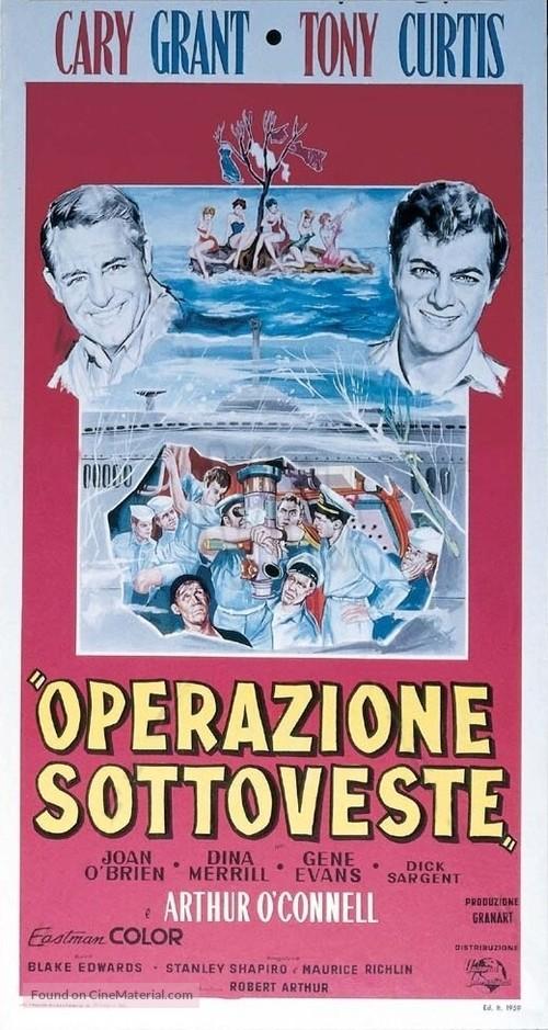 Operation Petticoat - Italian Movie Poster