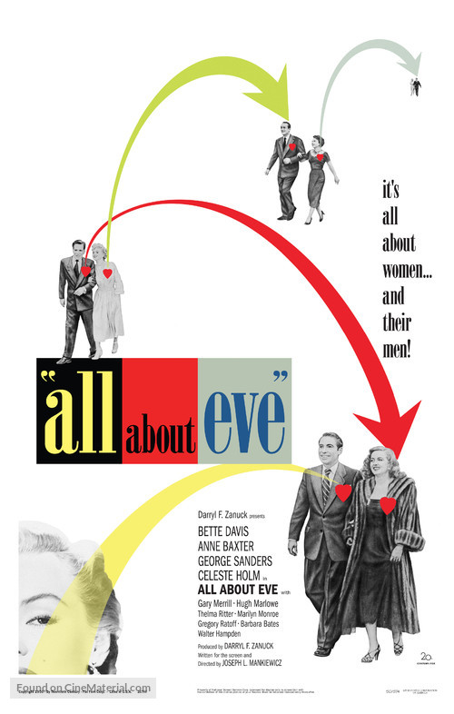 All About Eve - poster