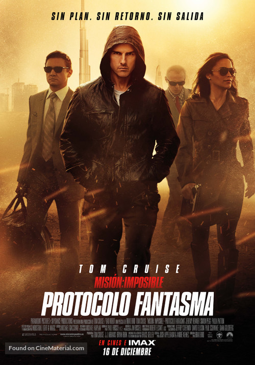 Mission: Impossible - Ghost Protocol - Spanish Movie Poster