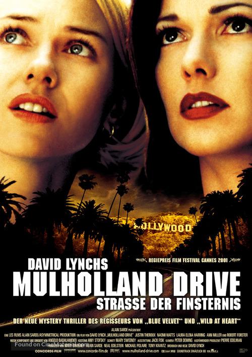 Mulholland Dr. - German Movie Poster