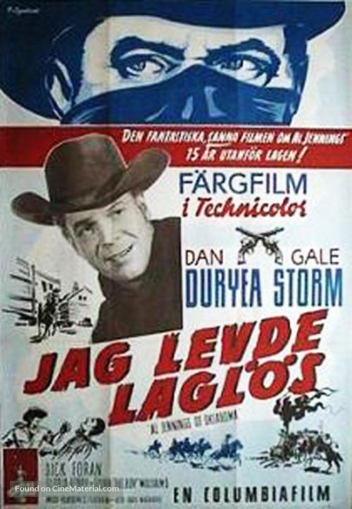 Al Jennings of Oklahoma - Swedish Movie Poster