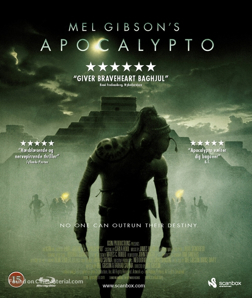 Apocalypto - Danish Blu-Ray movie cover
