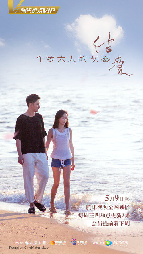 """The Love Knot: His Excellency's First Love"" - Chinese Movie Poster"
