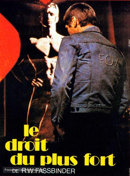 Faustrecht der Freiheit - French Movie Cover
