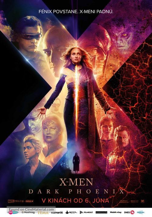 Dark Phoenix - Slovak Movie Poster