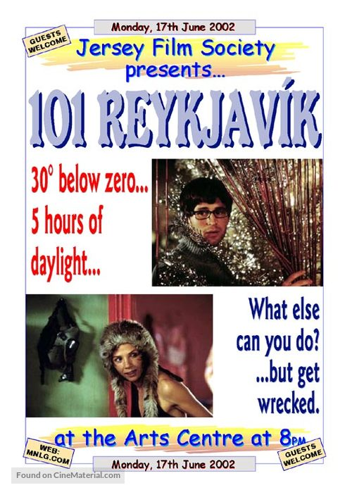 101 Reykjavík - Movie Poster
