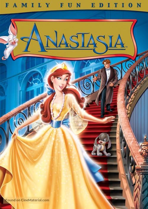 Anastasia - DVD movie cover