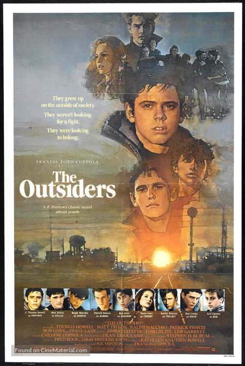 The Outsiders - Movie Poster
