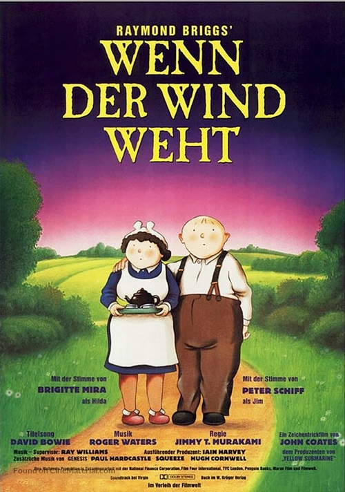 when the wind blows When the wind blows torrents - a naive elderly british rural couple survive the initial onslaught of a nuclear war.