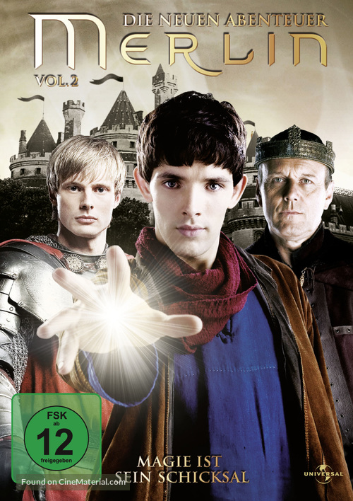"""Merlin"" - German Movie Cover"