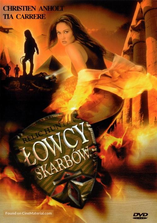 """Relic Hunter"" - Polish DVD movie cover"